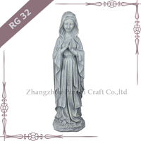 RG32 outdoor decorative resin the virgin mary decoration