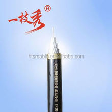 hongtai Company 0.6/1kv F-CV Cable 3C-6mm2 Semi conducting Tape & Copper tape shield is applied helically over each core