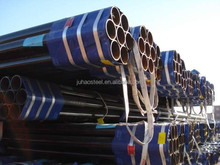 ASTM A53 A106 Gr.A B bevel ends/plain ends seamless SMLS carbon steel pipe/tube