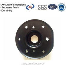 Powder coated metal spinning parts