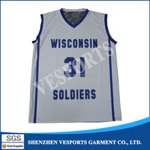Breathable dry fit cool basketball team wear