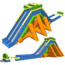 2015 hot inflatable water slide with pool,inflatable water slide,hippo inflatable water slide