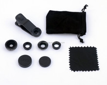 No Vignette universal clip 4 in 1 phone lens for all smartphone
