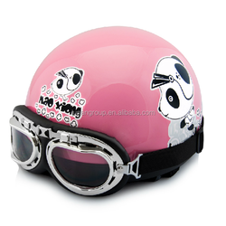 Halley Motorcycle and ATV Helmet colorfully