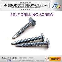 Price for wafer head self drilling screws zinc phosphate
