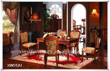 European style wood carved dining room tables FA812-B