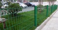 metal iron garden fence