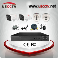 Retail 4 Channel DVR Video cctv home security camera system