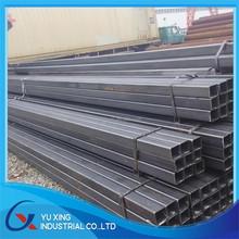 Tianjin YUXING Factory Weld Black Rectangular Steel Tube /Retangular Hollow Section in warehouse