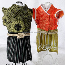 summer dog clothing shining clothes samurai costume for dogs