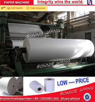 Small model 4T/D 1092mm computer paper/copy paper/ printing paper making machinery