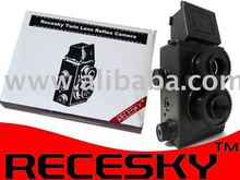Gakkenflex clone DIY Twin Lens Reflex 35mm Film Camera