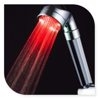 C-158LED Hydroelectric power LED color changing hand shower