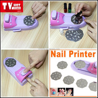 China factory good price 3d nail polish printer machine nail art stamper no digital no power auto artpro nail printer