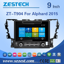 for TOYOTA ALPHARD 2015 best selling car accessories with CE EMC LVD FCC