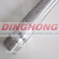 1 1/2 polegadas masculino fio flexível trançado mangueiras metálicas