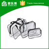 Leisure PVC Set of 3 Makeup Bag Organizer
