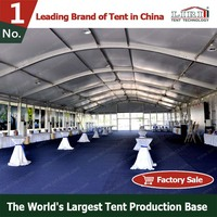 High Quality Aluminum Frame Arc Roof Tent Dome Tent Wedding Tent