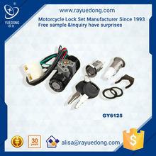 South Asia Market motorcycle lock set GY6125, Wave 110, TBT110
