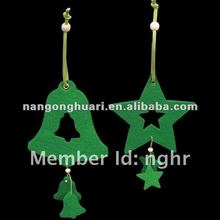 Felt christmas hanging decoration