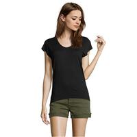 100%cotton slim fit plain t shirt in bulk cheap custom t shirts