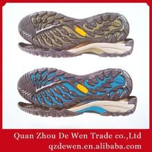 36#-45# High Quality Boot Outsole, Gem Crepe Rubber For Men And Ladies Shoe Outsole