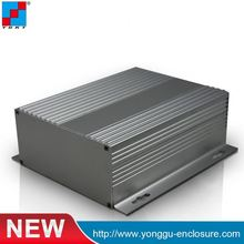 powder seperated aluminum extruded case