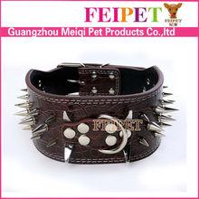 Wholesale pitbull spiked collar designer dog collars
