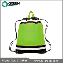 Promotional Non woven drawstring sports bags, outdoor activities
