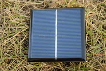 High efficiency customizable epoxy resin small size solar pv module for toys/led light made in China