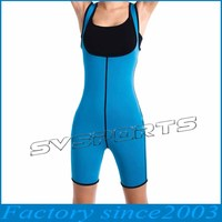 Slimming Sweat Bodysuit Hot Neoprene Thermo Shapers for Weight Loss Womens