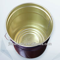 20 liter tinplate paint drum for oil use