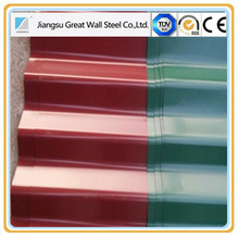 China manufacturer skin passed prepainted galvanized steel for roofing