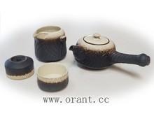 2015 Matt Crackled Chinese Tea Set Japanese Porcelain Tea Cup Tea Pot Hot Selling