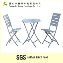Plastic Wood Folding used restaurant table and chair Form China Mainland LG-WS-016