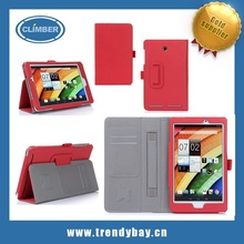 Credit card and Flip Standleather cover cases for acer iconia a1-810 a1-840