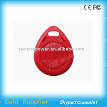 Programmable 13.56 MHZ RFID key fob S70 RFID tag with good quality