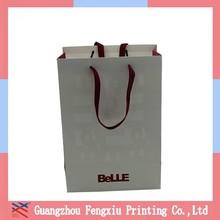 Hot Sale Colored Custom Design Elegent Paper Gift Packaging Bag