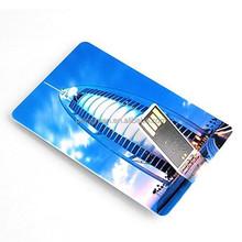 Promotional gifts credit card shape usb drive , credit card shape usb memory stick (PY-U-157)