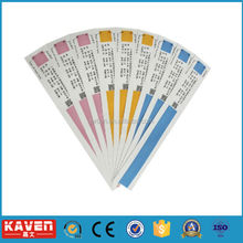 hot selling Direct Thermal Paper Wristband in Medical, kids paper wristbands factory