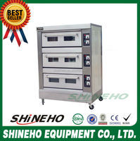 B015 3Layer9Trays Large capacity electric oven/mini bakery/industrial bakery machines