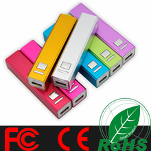 Shenzhen Factory offer portable power bank 2600mAh/2000mAh emergency mobile phone charger