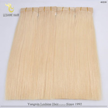 2015 Aliexpress Virgin Unprocessed double weft no shedding tangle model hair extension wholesale