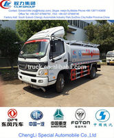 3000 liter foton refueling tank truck, used oil tankers truck for sale