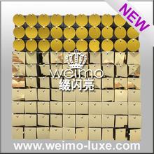 2015 produtos de patentes brilhante lantejoula PVC parede painéis de teto