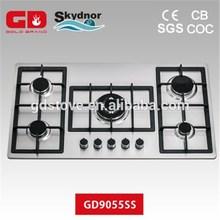 maravilloso de gas cocina de 5 hornillas de la estufa con el certificado del ce