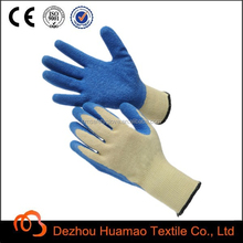 Synthetic knit coated gloves