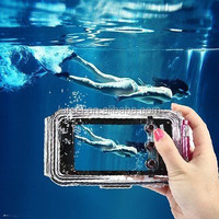 Best Waterproof 40M Underwater Clear Diving Shoot Cover Case For iPhone5/5s