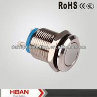 CE ROHS small push button switch
