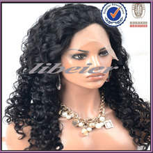 LiBeier hair Hot sale natural curly Human Hair Lace Wigs,india hair wig price , indian women hair wig